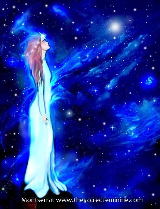 Cosmic Dreamer Post Card by Montserrat