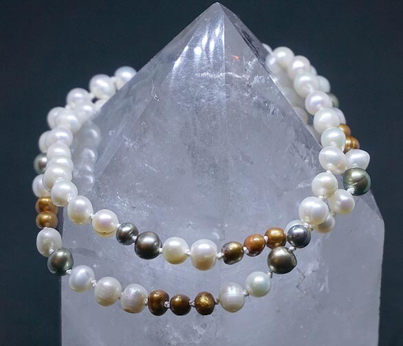 Fresh Water Pearls Hand knotted Necklace