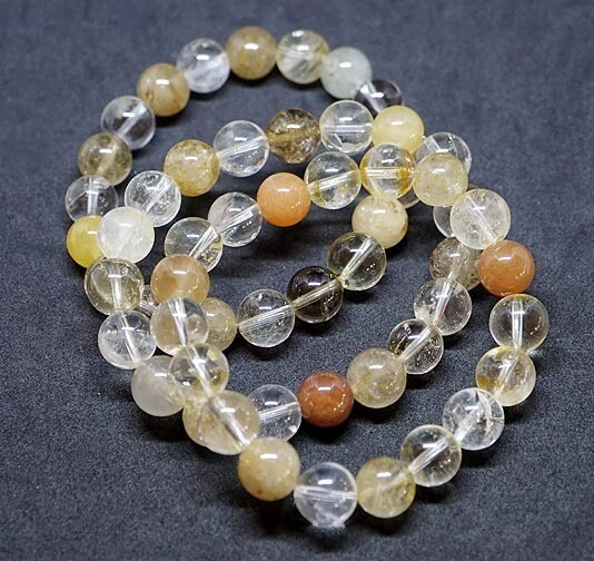 Golden Rutilated Quartz Bracelet