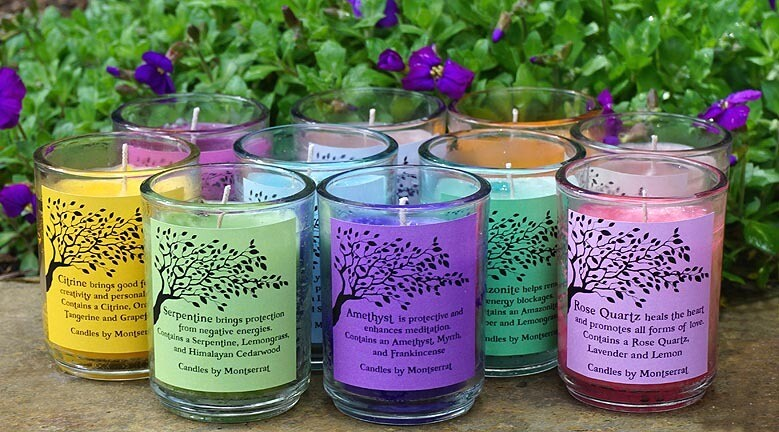 Crystal Dance Jar Candles