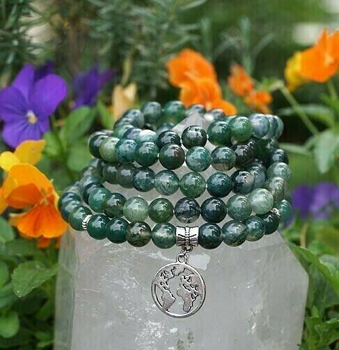 Mother Earth 108 Prayer Beads