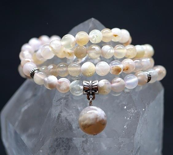 Sakura 108 Prayer Beads