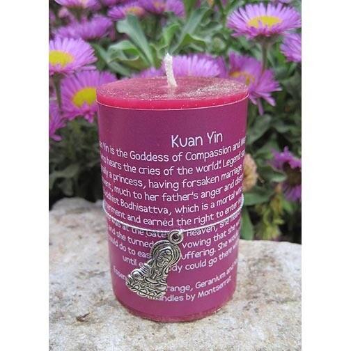 Kuan Yin Candle
