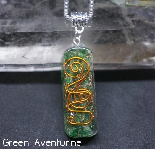 Orgone Green Aventurine Pendant