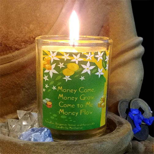 Money Spell Candles