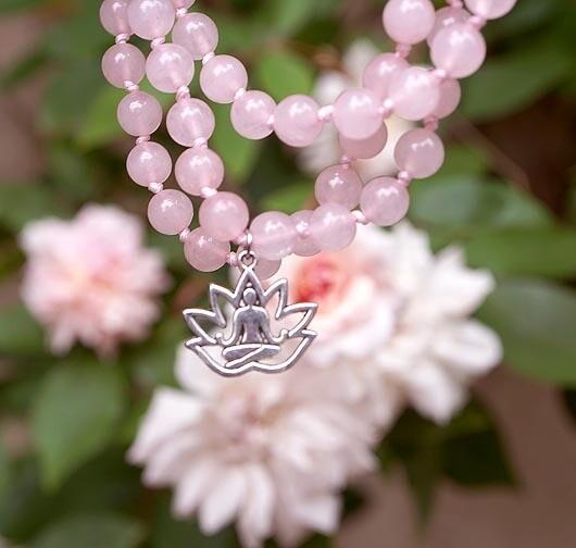 Hand Knotted Gemstone Prayer Beads