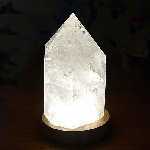 Lamp Crystals display