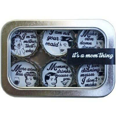 Designer Bottle Cap Magnets It's A Mom Thing