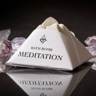 Meditation Bath Bomb- 4oz- Magic Fairy Candles