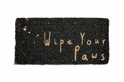 Wipe Your Paws Natural Coir Doormat