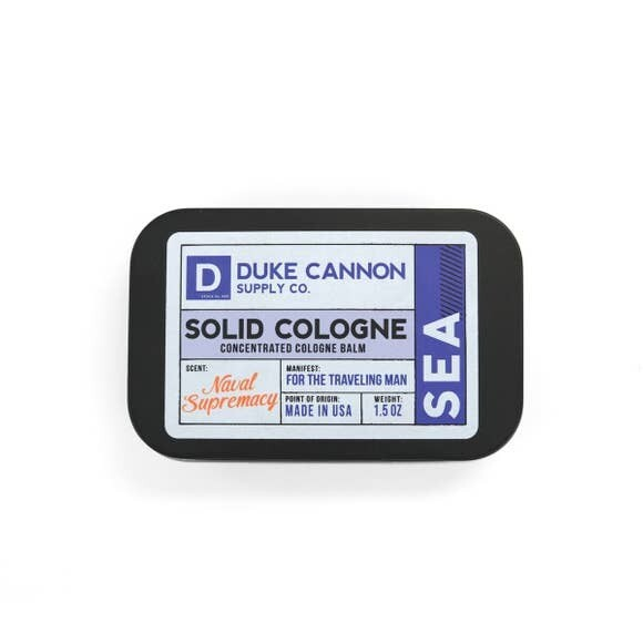 Traveling Man Solid Cologne- Duke Cannon Sea