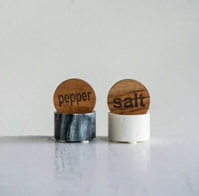 Marble Salt & Pepper Round 2