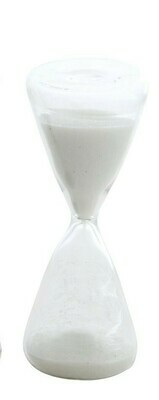 White Sand Decorative Hourglass- Creative Co-op