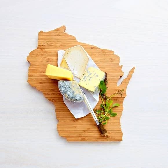 State Shaped Cutting Board