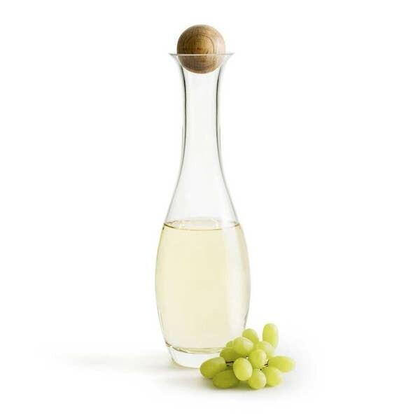 Wine/ Water Carafe w/ Oak Stopper