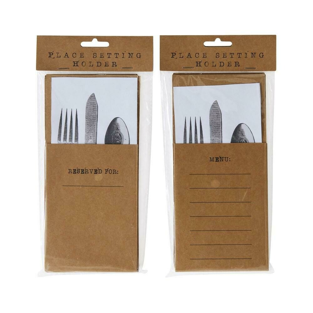 Place Setting Holders