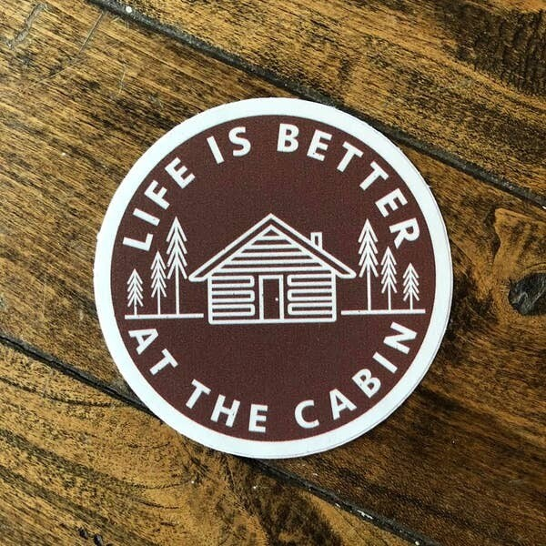 Life Is Better Adventure Stickers