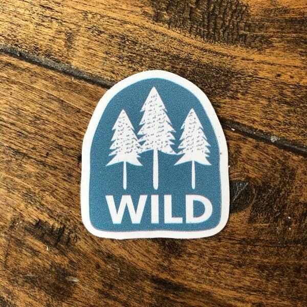 Mini Wild Adventure Sticker