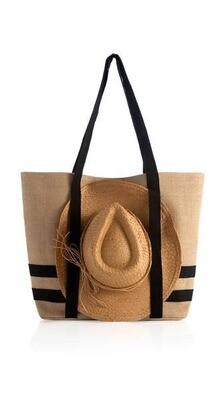 Sunny Beach Tote w/ Hat