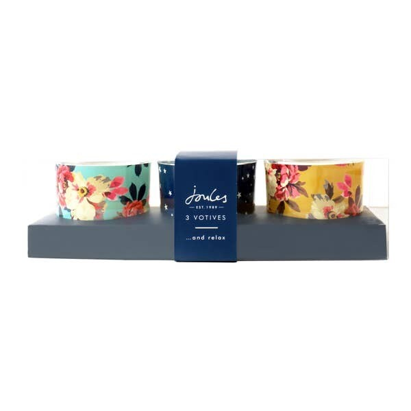 Joules Glass Votive Set