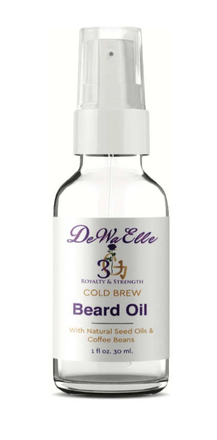 Cold Brew Beard Oil (For Men with Beards & Mustaches)