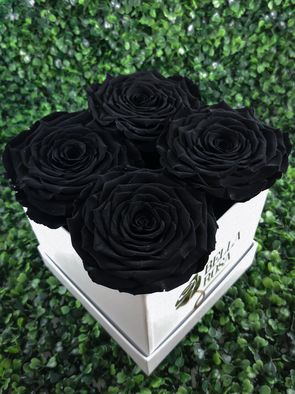 4 rosas tamaño XXl