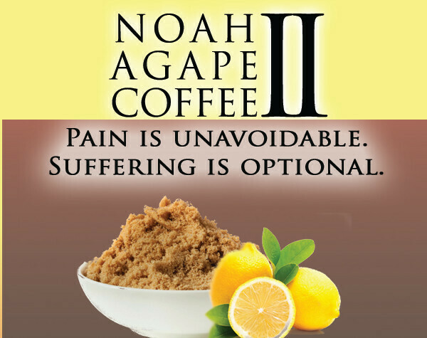 Noah Agape II Coffee, Costa Rican and Columbian Beans infused with Hemp oil CBD. (8 once's)