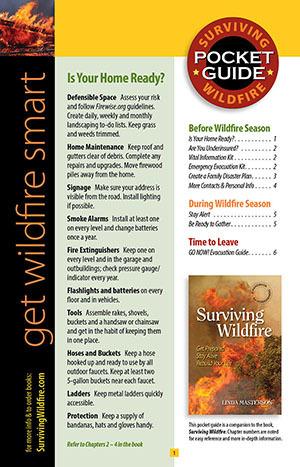 Get Wildfire Smart Pocket Guide