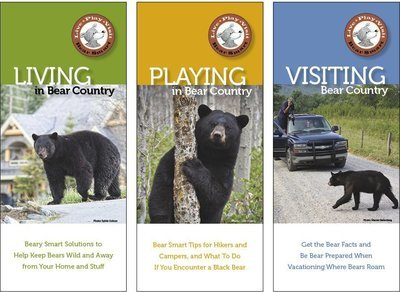 Bear Smart Pocket Guides (set of 3)