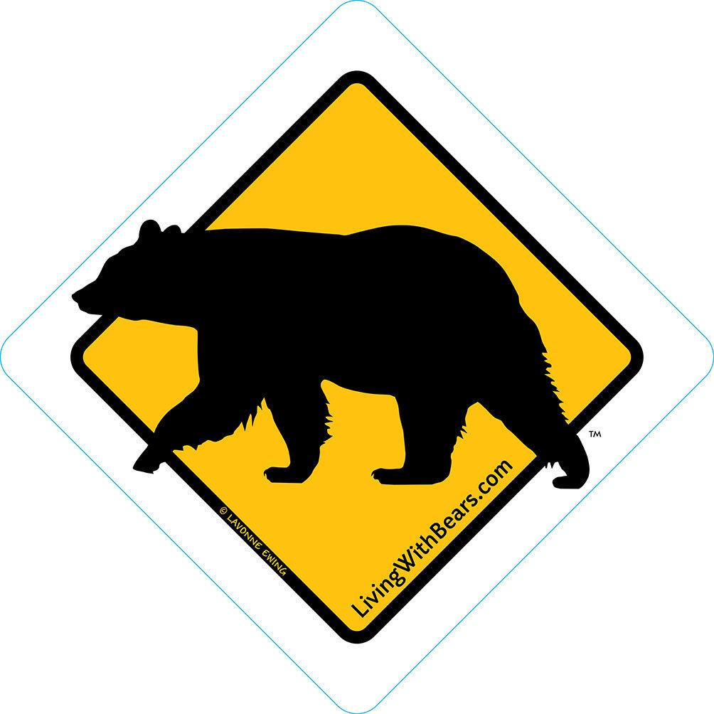 Black Bear Sign Artwork (GOLD)