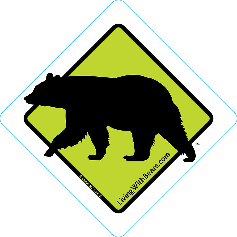 Black Bear Sign Artwork (GREEN)