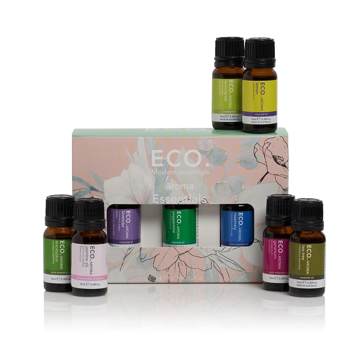 ECO. Aroma Essentials 9 Pack (9x 10ml Essential Oils)