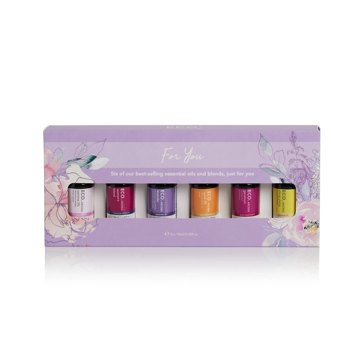 ECO. For You 6 Pack (6x 10ml Essential Oils)