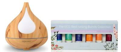 Beech Diffuser & Best Selling Blends Starter Pack
