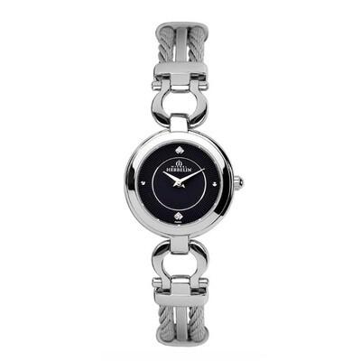 Ladies Michel Herbelin Stainless Steel Cable Watch