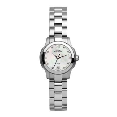 Ladies Michel Herbelin Stainless Steel Bracelet Watch