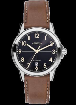 Gents Michel Herbelin AMBASSADE automatic watch 1650/24GO