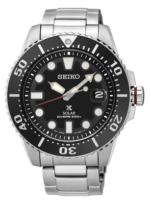 Seiko SNE437P1 Gents PROSPEX Solar Quartz Divers Watch