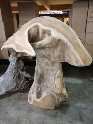 Teak Mushroom Large