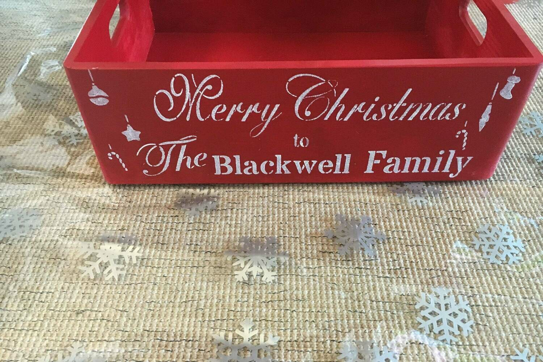 Medium Christmas Box Christmas Hamper