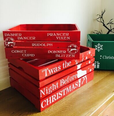 Personalised Christmas Box Christmas Hamper