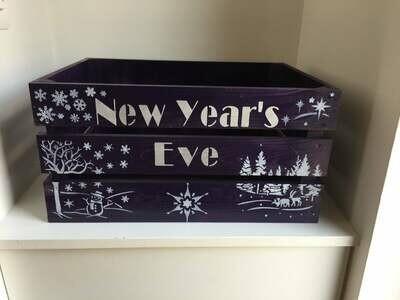 Personalised New Years Eve Box Christmas Hamper