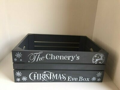 Medium Christmas Eve Crate