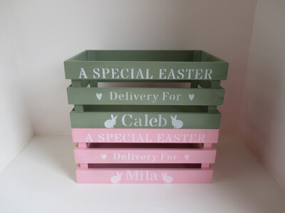 Personalised Easter Crates And Boxes