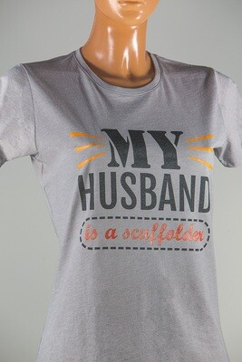 My Husband is a Scaffolder T-SHIRT