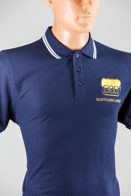 BSA Scaffolder POLO SHIRT TIPPED