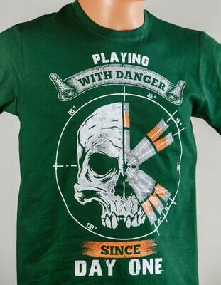 Playing with Danger Scaffolders T-SHIRT