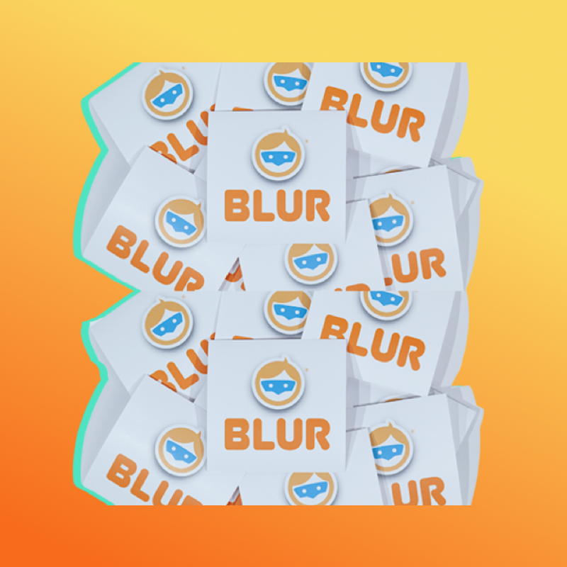 BLUR Logo + Copy-10 Pack
