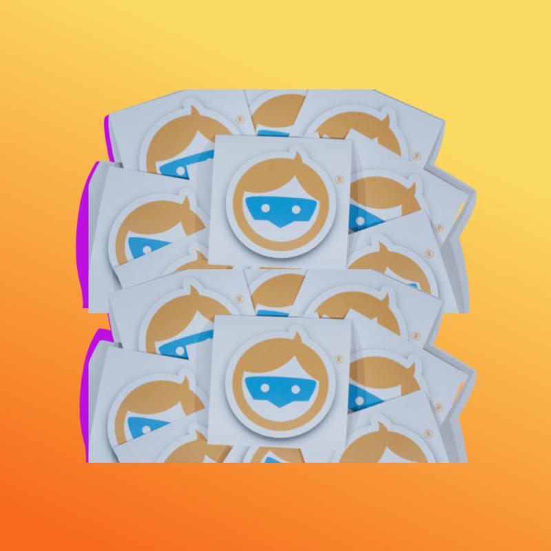 BLUR Logo Sticker-10 Pack