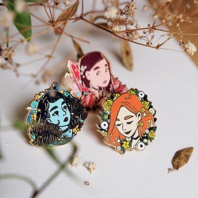 AESTHETIC☆GIRLS   Enamel pins & prints